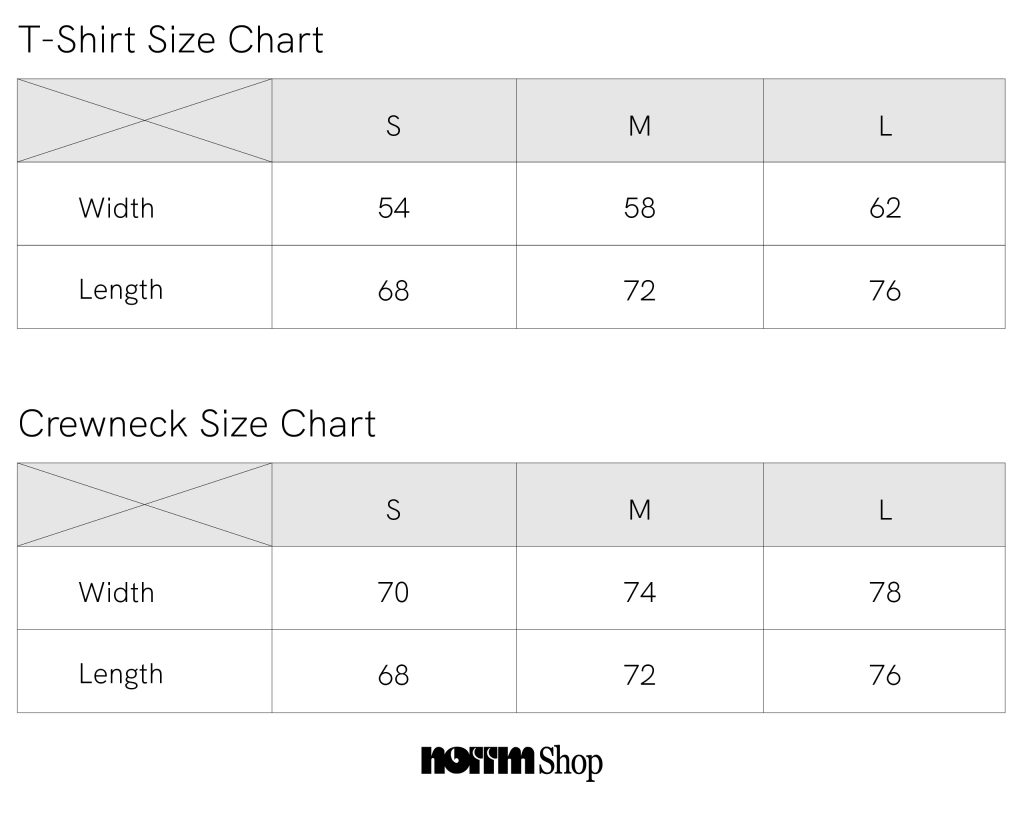 Norrm Size Chart